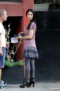 Lucy Liu Photos Photos - Lucy Liu Films 'Elementary' in ...