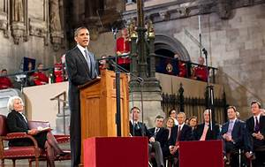 "President Obama Speaks to the Parliament in London: ""The ..."