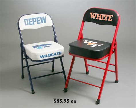 15 all basketball sideline chairs