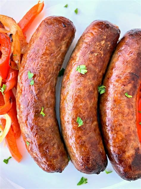 sausage fryer air recipes breakfast airfryer easy quick links cook italian staysnatched food power recipe xl peppers brats fry nuwave