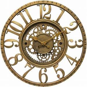 Decorative Gear Clock in Wall Clocks