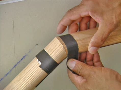 stair treads how to install a stairway handrail how tos diy