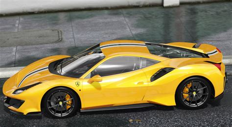 488 Pista Modification by 2019 488 Pista Add On Template Gta5 Mods