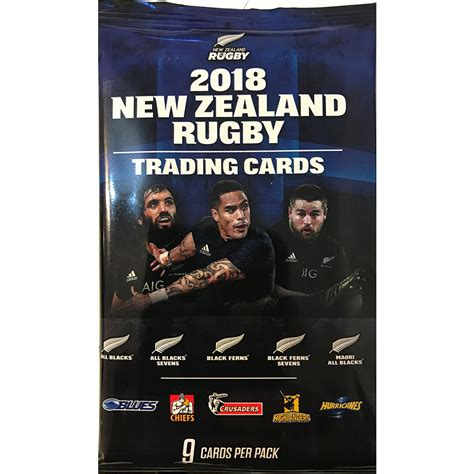 trading nz 2018 new zealand rugby packet card central