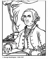 Washington George Coloring Dollar Bill President Printable Presidents Printables Biography Facts Patriotic Usa Kindergarten Cartoon Mini Sheets Presidential Revolution Unit sketch template