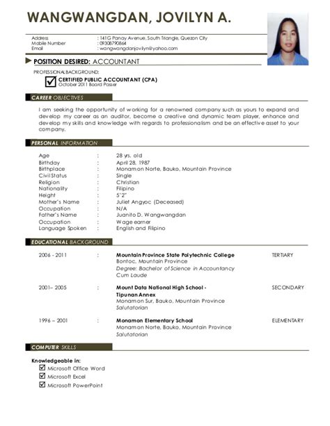 To Right A Resume by Resume W Id