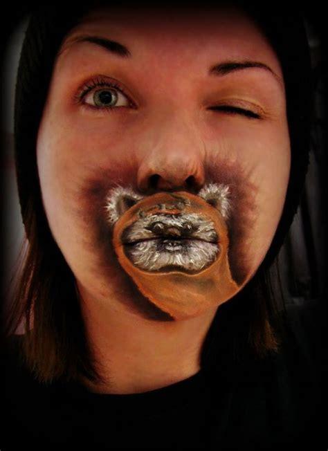 sci fi character beauty  ewok lips  crystal effin