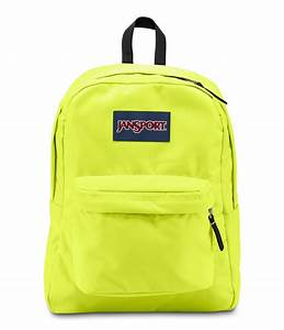 JanSport SuperBreak School Backpack - Lorac Yellow