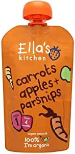 amazoncom ellas kitchen stage  baby food carrots