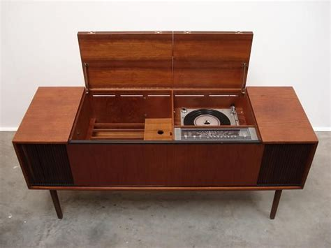 Vintage Record Player Cabinet