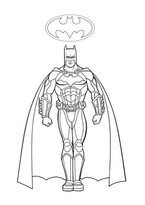 disegni da colorare batman e batman disegno da colorare
