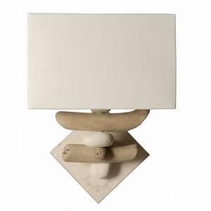 Applique Murale Bois Flotté : lampe applique bois flott lampe design applique design ~ Teatrodelosmanantiales.com Idées de Décoration