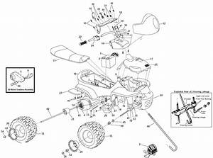 Power Wheels Kawasaki Ninja Parts