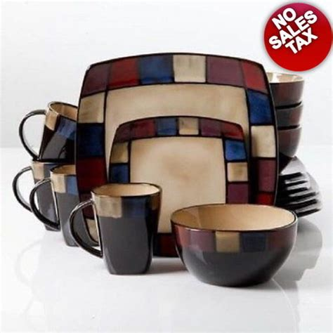 dinnerware sets clearance service dishes crockery discount piece 32 dinner serving dining garden