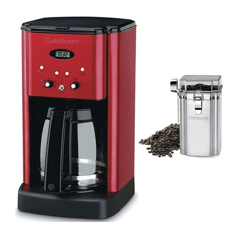 Making coffee in a moka pot might seem like the most straightforward process, but you can do it. Cuisinart DCC-1200MR 12 Cup Brew Central Coffee Maker (Red) with Coffee Canister - Walmart.com ...