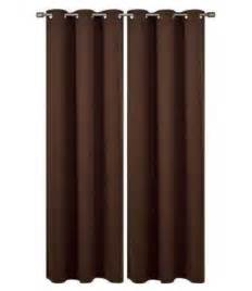 best allen roth sullivan chocolate brown curtains for