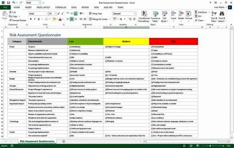 risk assessment template sampletemplatess