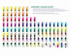 Pantone Color Chart  Free Download  Create  Edit  Fill And