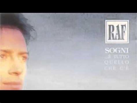 Testo Via Raf by Raf Malinverno Versione Originale Lp Con Testo