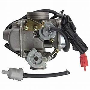Goofit Pd24j Carburetor For Gy6 150cc Atv Scooter