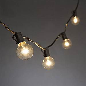set of 20 bulbs cafe style patio string lights 20 feet With 20 foot outdoor string lights