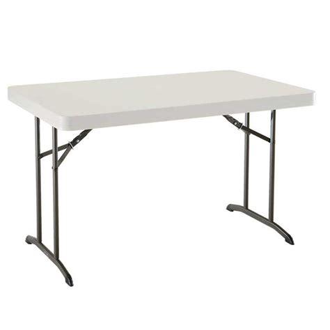 Table Pliante Rectangulaire 122cm  4 Personnes Table
