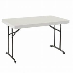 Table 4 Personnes : table pliante rectangulaire 122cm 4 personnes table ~ Melissatoandfro.com Idées de Décoration
