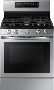 Samsung Nx58j7750ss 30 Inch Flex Duo Gas Range With 5 8 Cu