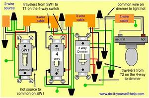 3 Way Switch Wiring Diagrams Doityourselfhelp