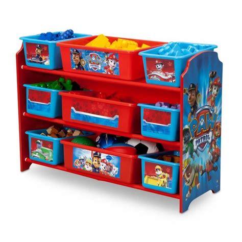 meuble chambre enfants pat patrouille meuble de rangement enfant 9 bacs plastique