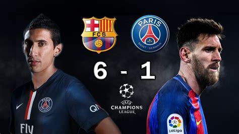 Barcelona x PSG melhores momentos 08/03/2017 - YouTube