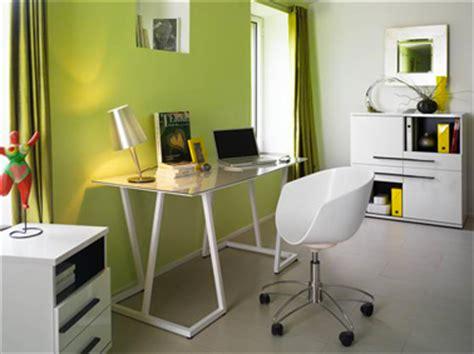 bannettes bureau décoration bureau vert