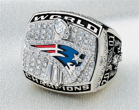 A Look At The Patriots Super Bowl Rings Through The Years