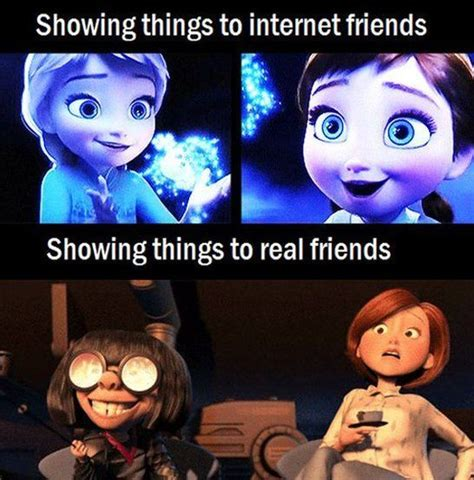 Real Friends Meme - internet friends vs real friends funny pictures quotes memes jokes
