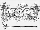 Cartoon Boardwalk Coloring Template Personalization sketch template