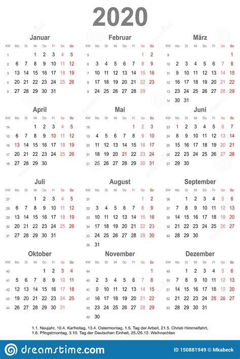 simple calendar   public holidays  germany