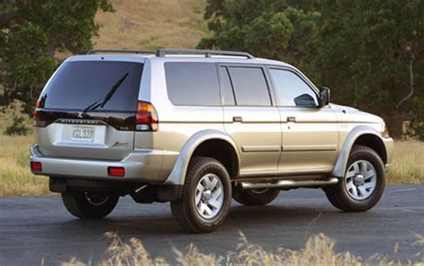 2003 Mitsubishi Montero Sport Information And Photos