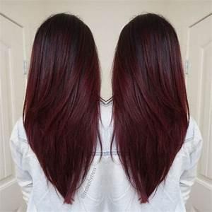 Balayage Braun Rot : les meilleures id es de couleurs pour cheveux courts et mi longs coiffure simple et facile ~ Frokenaadalensverden.com Haus und Dekorationen