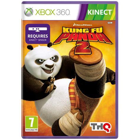 Kung Fu Panda 2 Xbox 360 Game Disney Kinect Pal Euro Cover