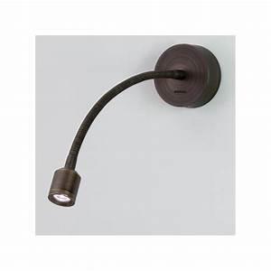 Applique Murale Avec Interrupteur : applique murale led fosso bronze avec interrupteur astro ~ Dailycaller-alerts.com Idées de Décoration