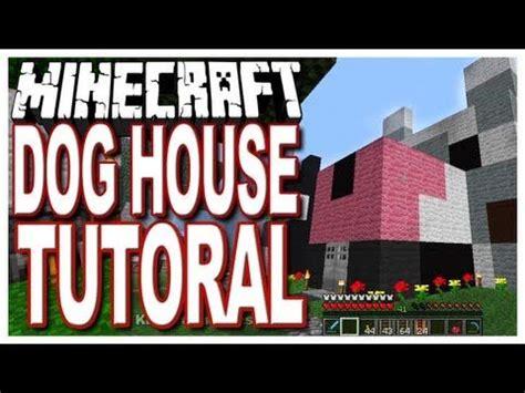 minecraft dog house tutorial easy build httpwww