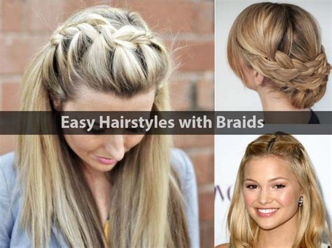 Easy Hairstyles Using Braids Easy Hairstyles With Stylish Braids Hairstyle For Women How To Make A Good Bun With Medium Hair Best Color For Brown Eyes And Yellow Skin 2 Way Strip Dye At Home Fine Natural Look Thicker Fastest Your Grow Fast Tie Man Long Short Haircut Crossword Clue What Type Of Human Box Braids