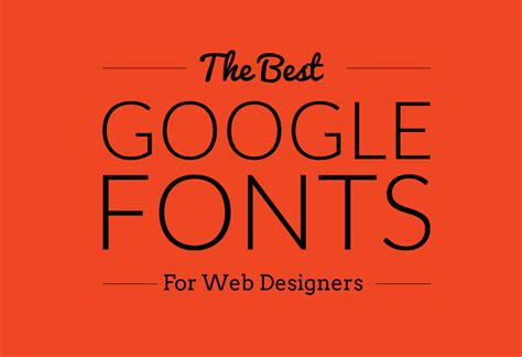 some of the best google web fonts for headings and headlines logarithm info