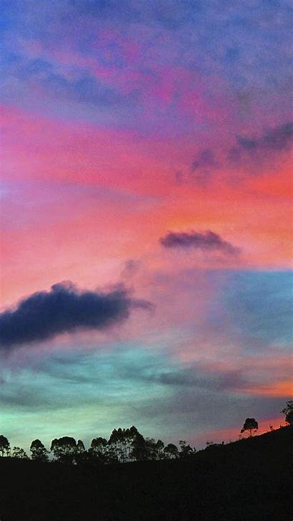 Sky Colorful Rainbow Cloud Sunset Nature Wallpapers