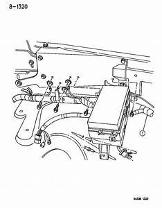 1995 Dodge Ram 2500 Wiring - Headlamp To Dash