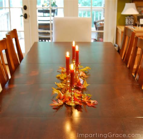 fall table decorations easy imparting grace super easy autumn tablescape