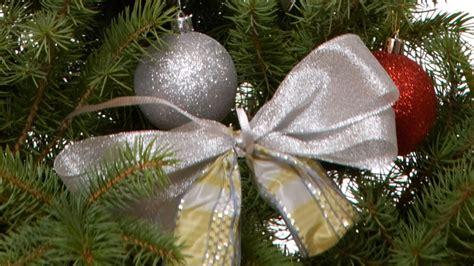 adornos reciclados para el 225 rbol de navidad lazos