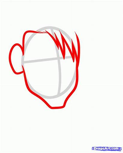 Dante Devil Cry Draw Step Drawing Face