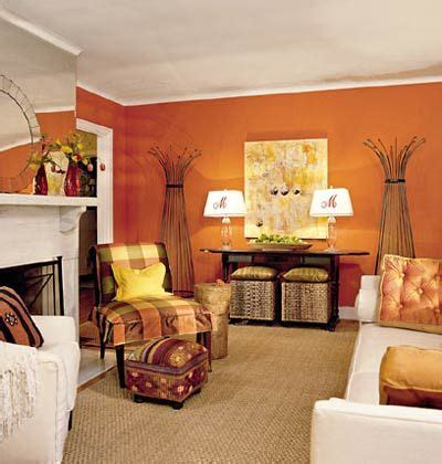 Orange Livingroom by Tangerine Orange Living Room With White Furniture