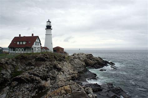 Le phare de Portland, Maine // Carte postale romantique ...